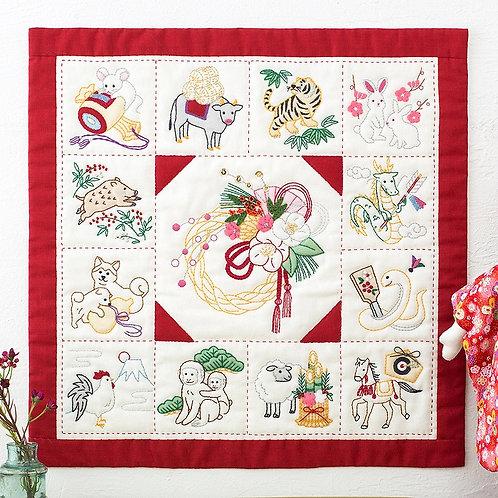 Appliqué Tapestry <Zodiac>