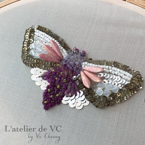 Butterfly Embroidery Material Kit