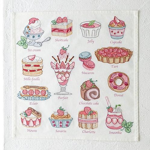 Stitch Cloth <Strawberry Sweets>