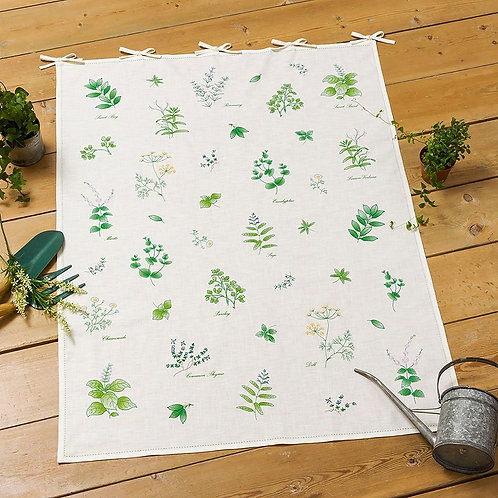 Motif Cloth <Green Herb>