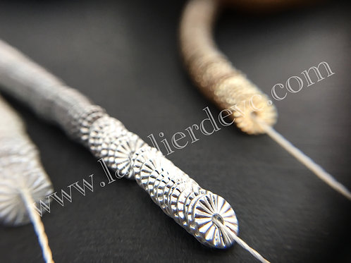 Sequins - BW Metallic Silver 4mm
