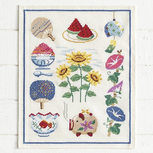 Cross Stitch Tapestry <Summer>