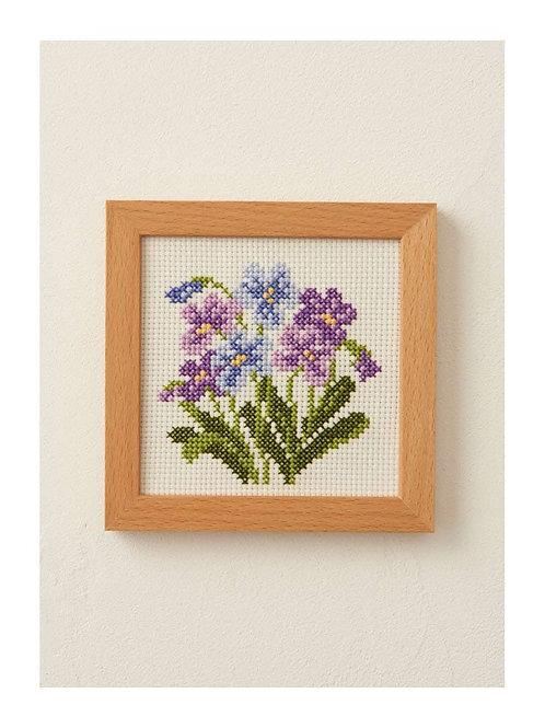 Cross Stitch Frame <Violet>
