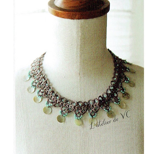Mermaid Motif necklace (material kit)