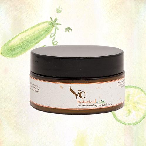 Cucumber Detoxifying Clay Facial Mask 180g
