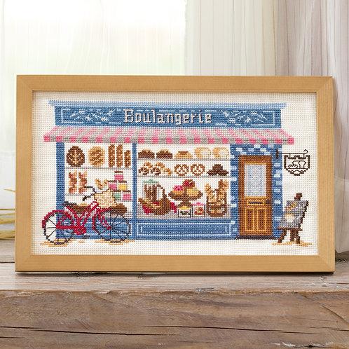 Cross Stitch Frame <Bakery>
