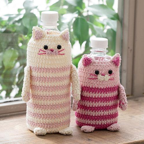 Cat Bottle Holder (Material Set)