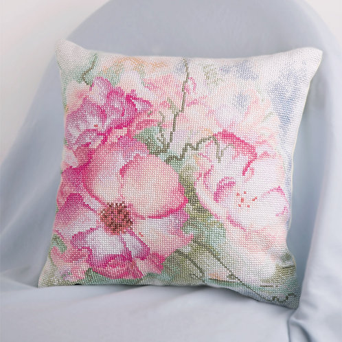 Day Dreams Embroidery Cushion Cover