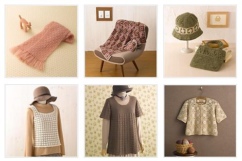 日本鉤織基礎証書課程-教材套裝