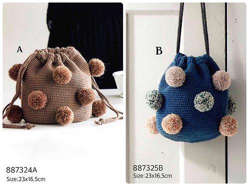 Crochet Bag Material Kit 24A & 25B