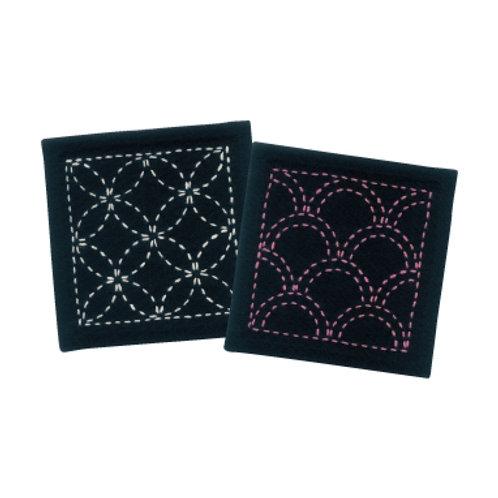 Coasters <Clover・Wave>