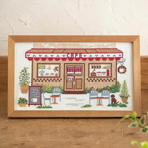 Cross Stitch Frame <Café>