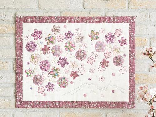 Sakura Appliqué Tapestry