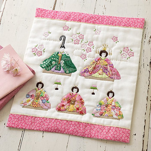 Tapestry of Hina Matsuri
