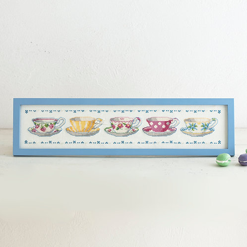 Tea Salon Cross Stitch Frame