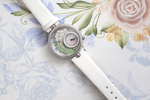 Lily of the Valley       Embroidery Watch