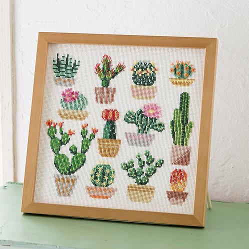 Cross Stitch Frame <Cactus>