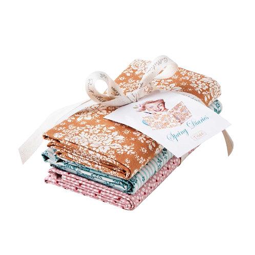 Tilda Fat Quarter Bundle Fabric, 3 pcs
