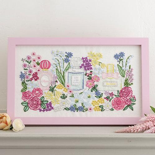 Stitch Frame <Floral Bouquet>