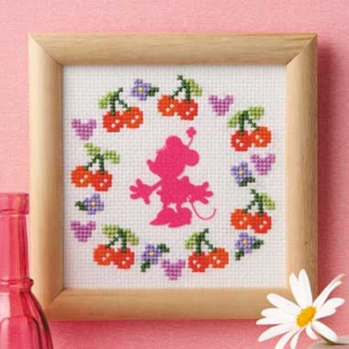 Minnie Mouse Mini  Cross Stitch