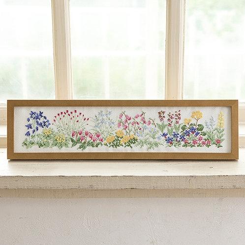 Cross Stitch Frame <Wild Grass>
