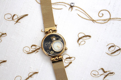Calligraphy Embroidery Watch