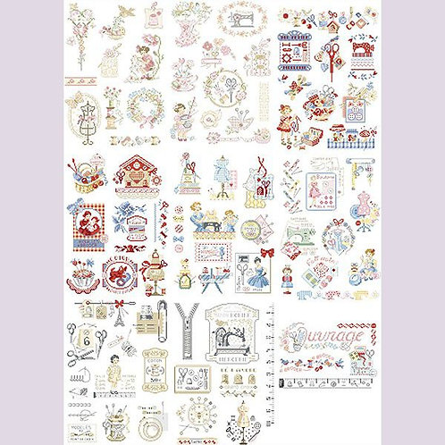 The Story of Embroidery in 50 charts