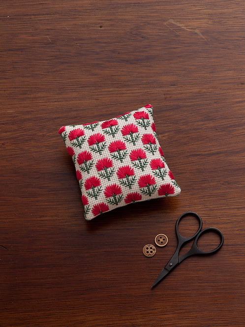 Red Square Pin Cushion