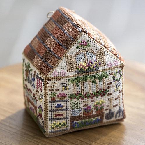 Cross Stitch House <Gardening>