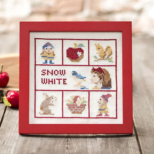 Cross Stitch Frame <Snow White>