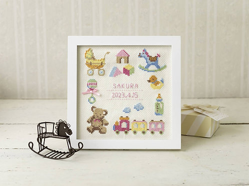 Cross Stitch Frame <Sweet Baby>