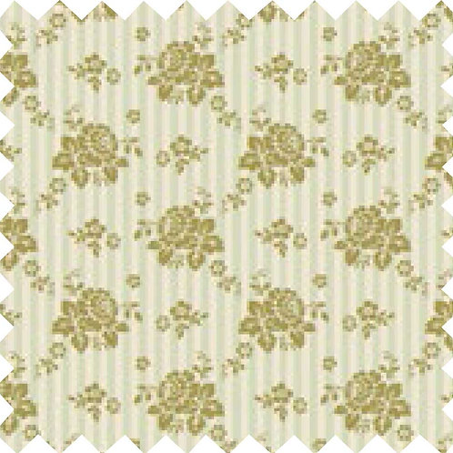 Tilda Emily Green Fabric (by 0.5m)