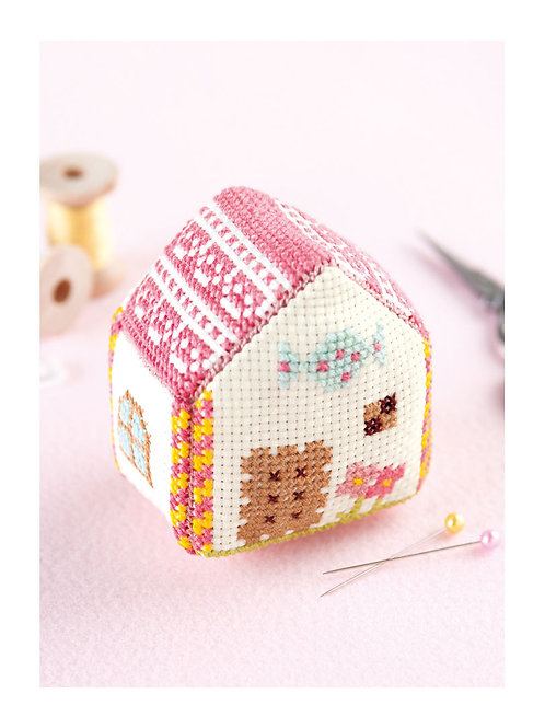 Biscuits Sweets House Pin Cushion