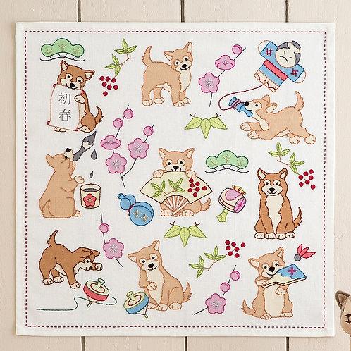 Stitch Cloth <Shiba Inu>