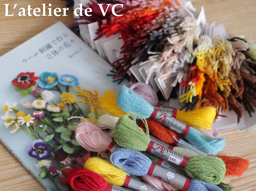 Appletons Wool Thread - 70 colors (sold out; pre-order item)