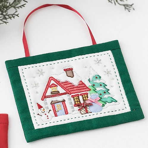 Greeting Card <Christmas House>