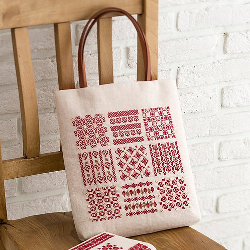 Sashiko Tote Bag