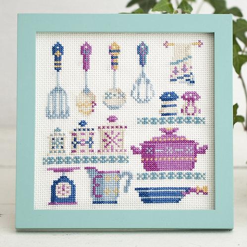Cross Stitch Frame<Kitchen>