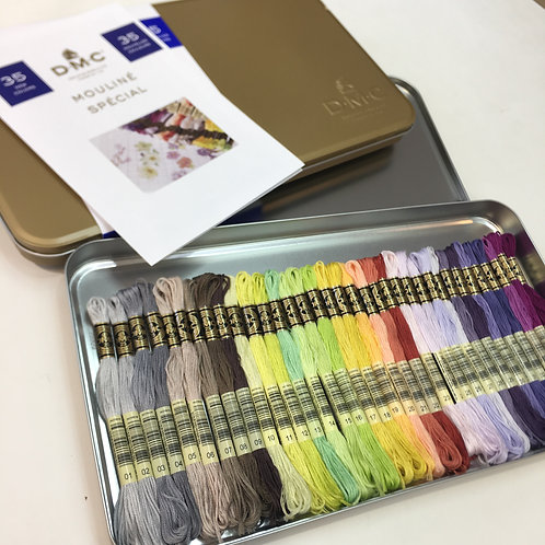 DMC Prestige Box with 35 New Colors Thread