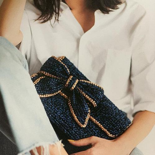 Crochet Ribbon Bag Material Kit