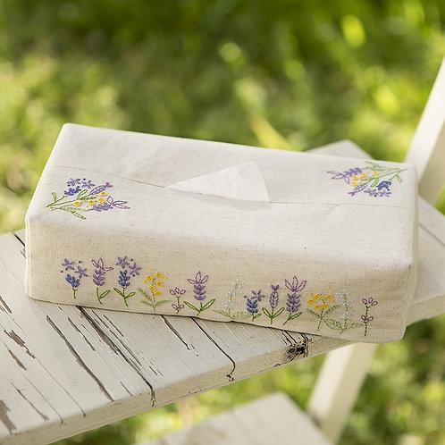 Lavender Tissue Paper Cover
