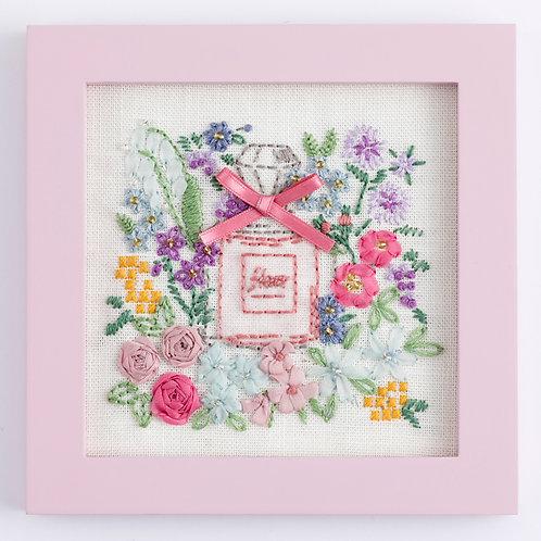 Stitch Mini Frame <Floral Bouquet>
