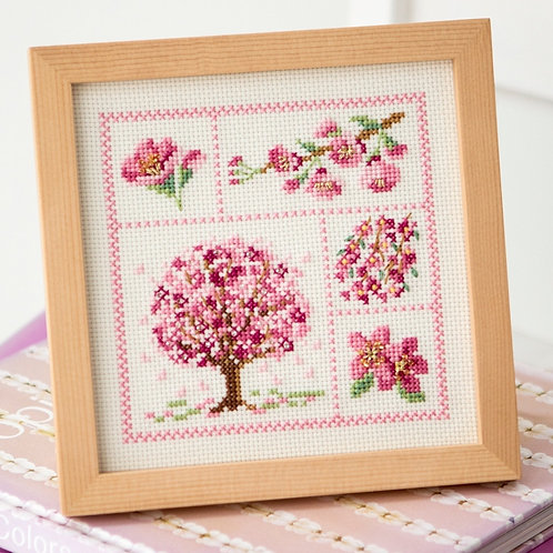 Cross Stitch Frame <Sakura>