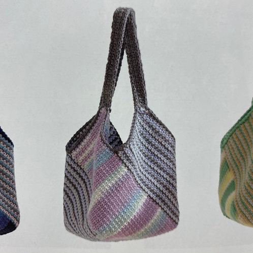 Crochet Bag Material Kit (Purple)