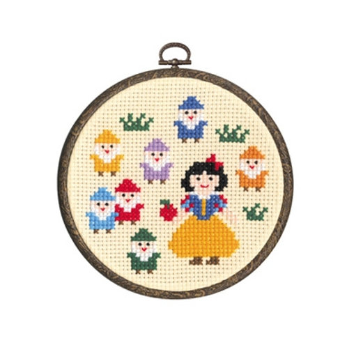 Snow White and the Seven Dwarfs Cross Stitch