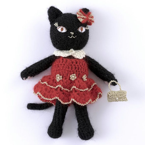 Black Cat Rosalie (Material Set)