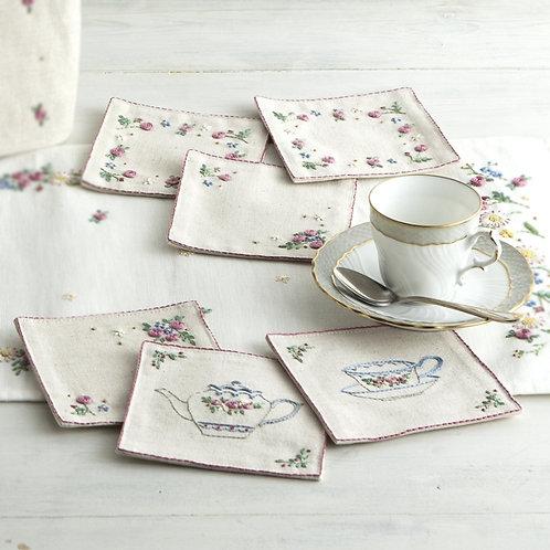English Rose Coasters