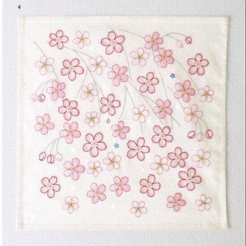 Sakura Stitch Cloth