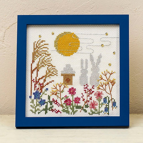 Cross Stitch Frame <Full Moon>