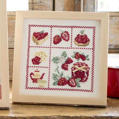 Strawberry Cross Stitch Frame